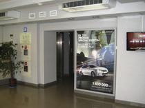 фото реклама на лайтбоксах в бізнес центрах