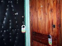 картинки доставка листовок по дверным ручкам